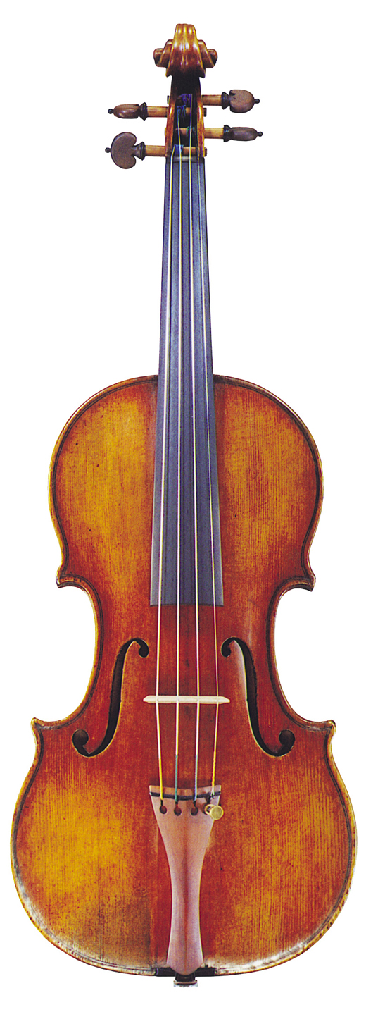 Image of instrument, the 1717 Windsor-Weinstein Stradivarius violin