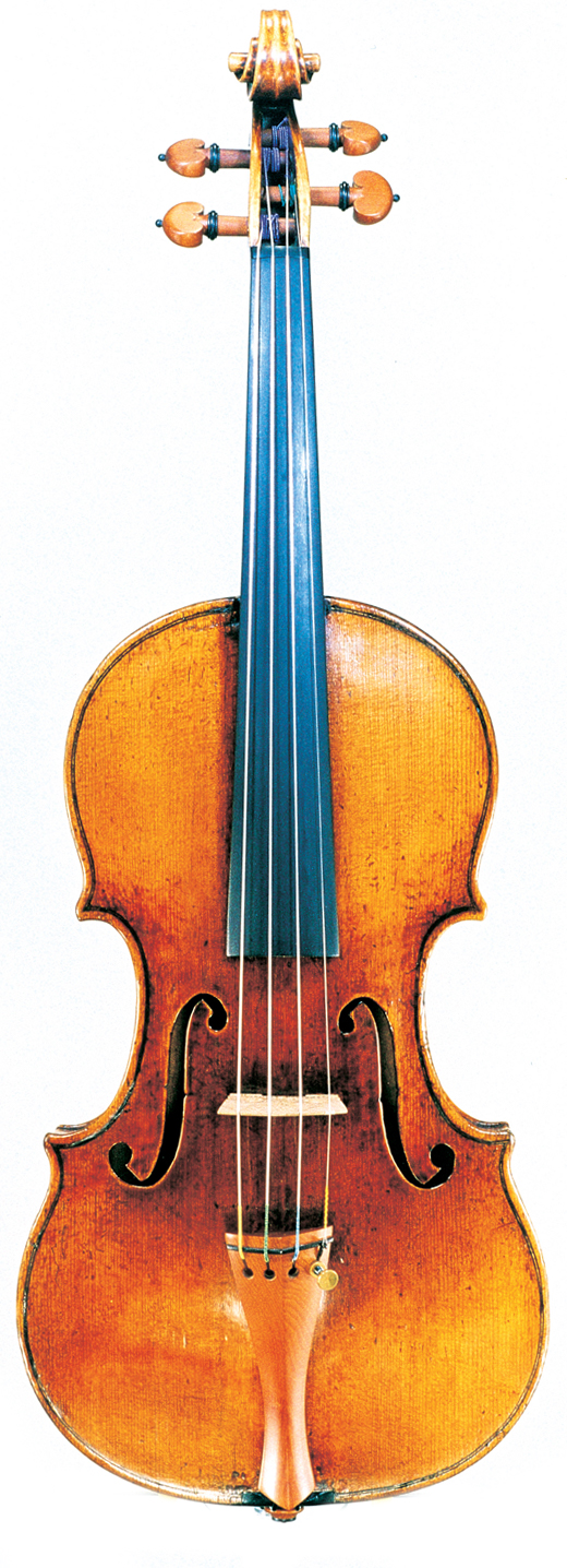 Image of a violin, the1729 Guarneri del Gesù violin