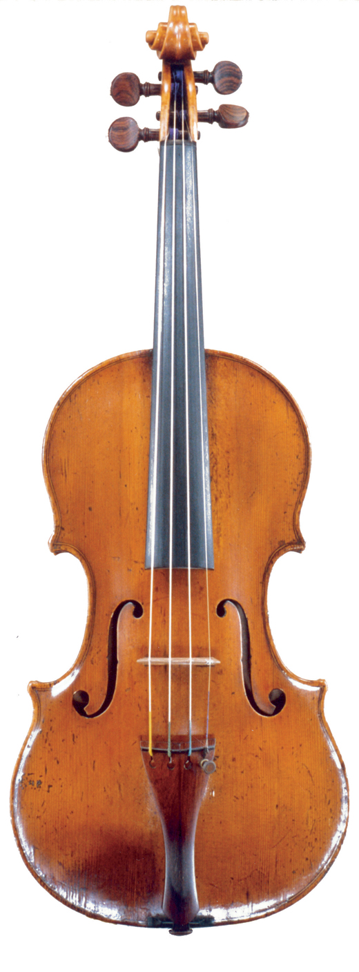 Image of a violin, the 1747 Palmason Januarius Gagliano violin