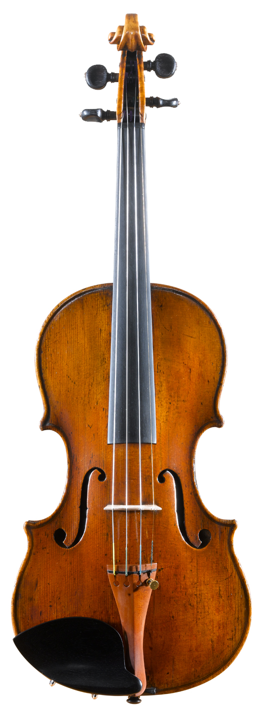 Image of a violin, the 1768 Miller Januarius Gagliano violin