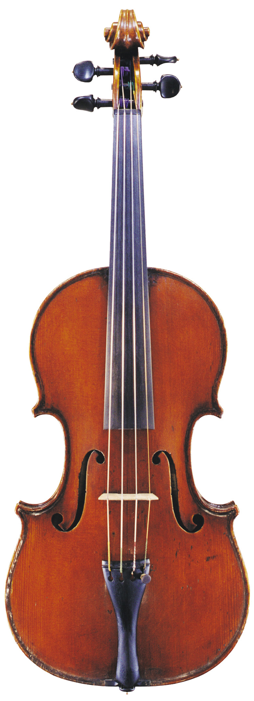 Image of a violin, the 1820 Joannes Franciscus Pressenda violin