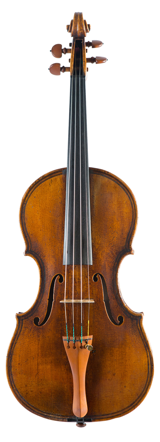 An image of a violin, the 1852 JB Vuillaume violin
