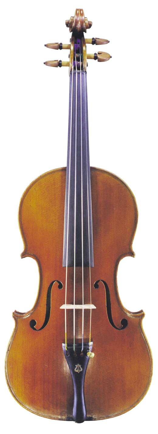 Image of a violin, the 1902 Enrico Rocca violin